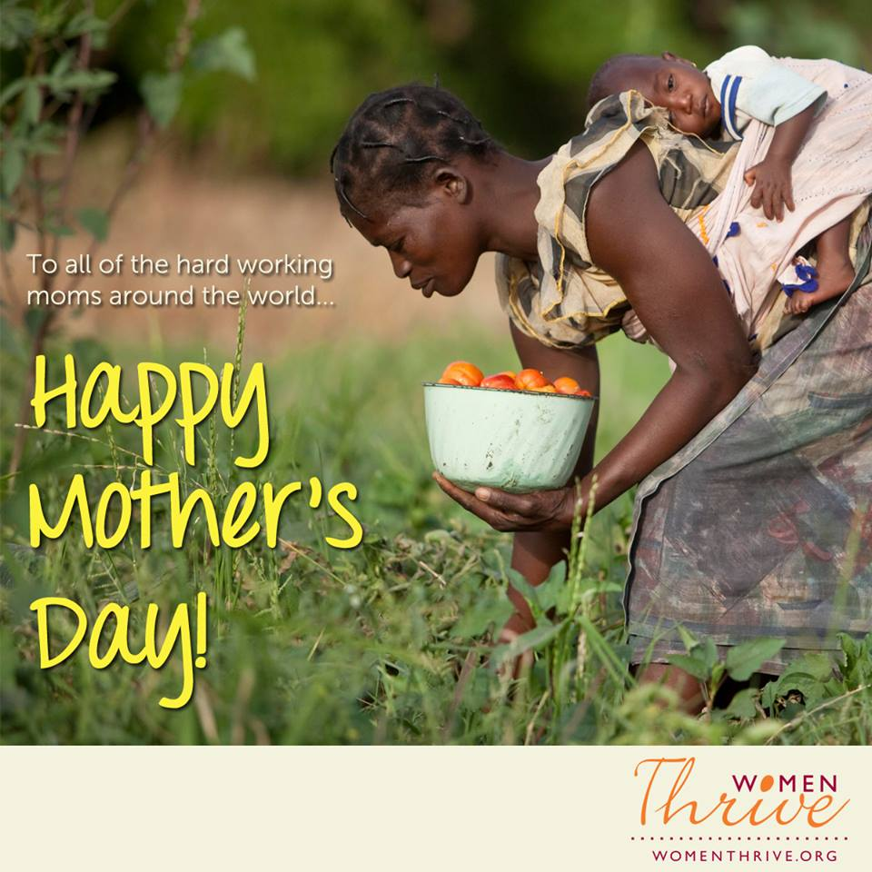 Mother's day hardworking