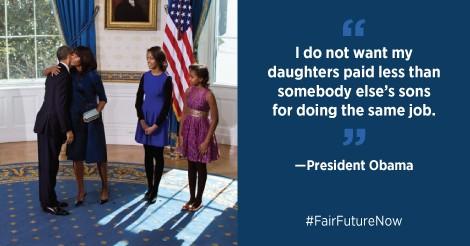 Obama equal pay
