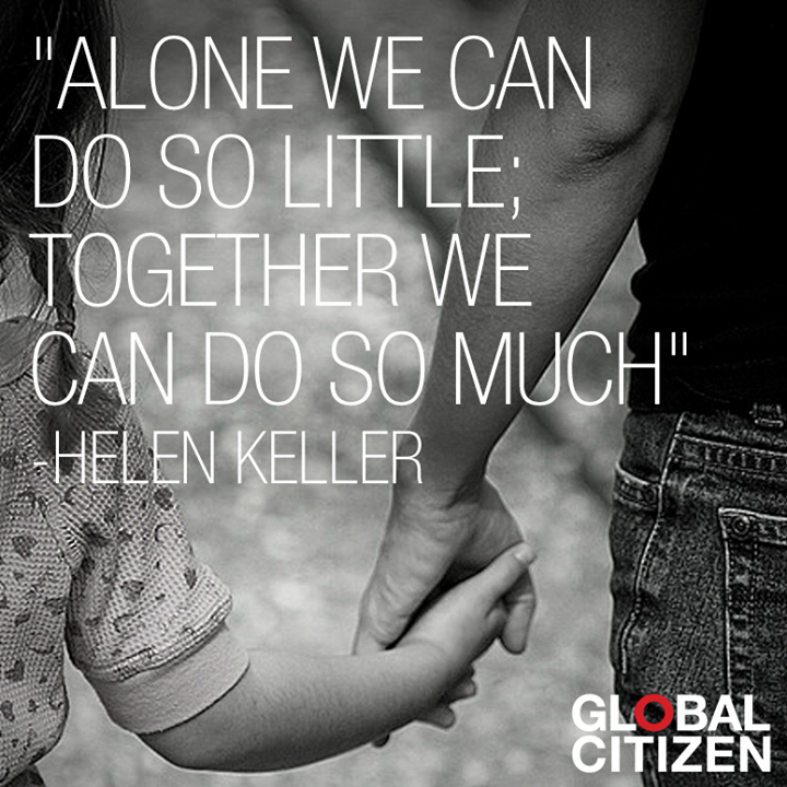 alone-together Helen Keller