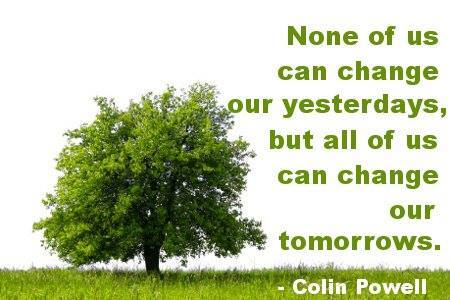 change tomorrows