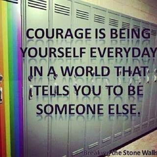 courage yourself everyday
