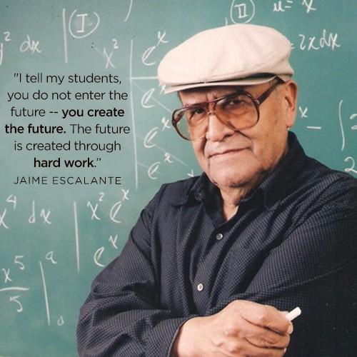 create the future-hard work