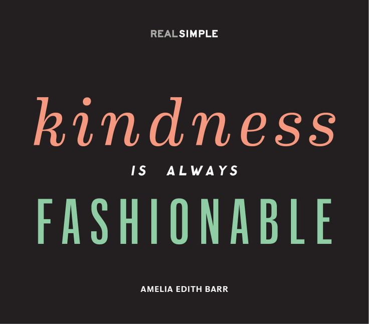 kindness-fashionable