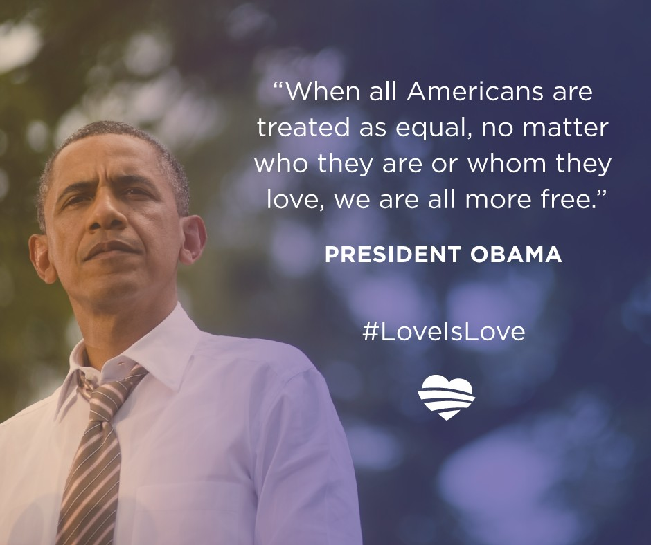 Obama - each American equal free