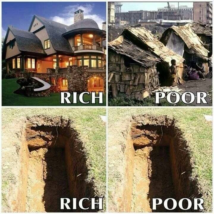 humble rich-poor