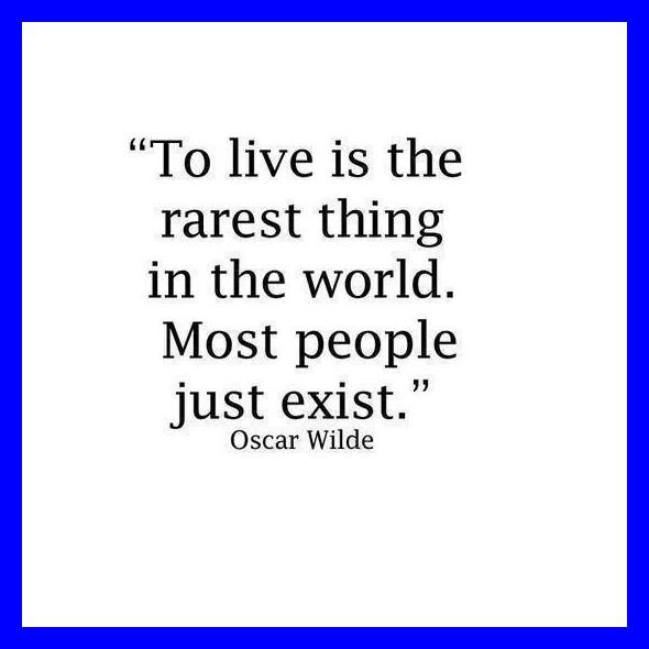 live-exist-Oscar Wilde