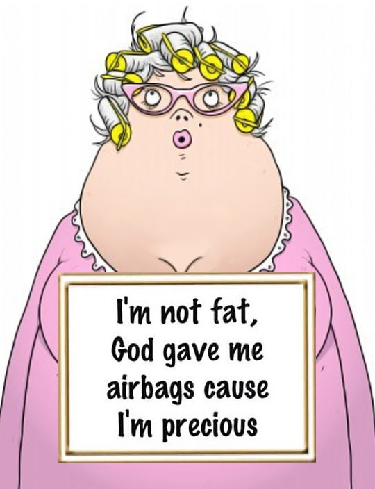 not fat - airbags