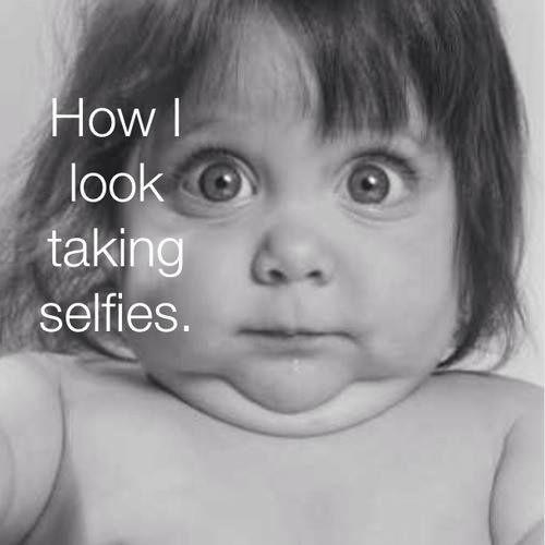 selfie look