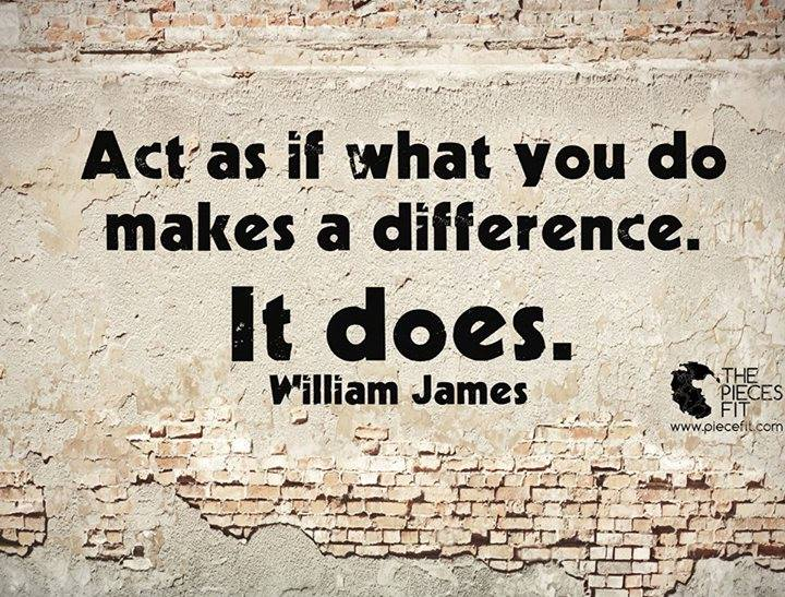 act - make difference