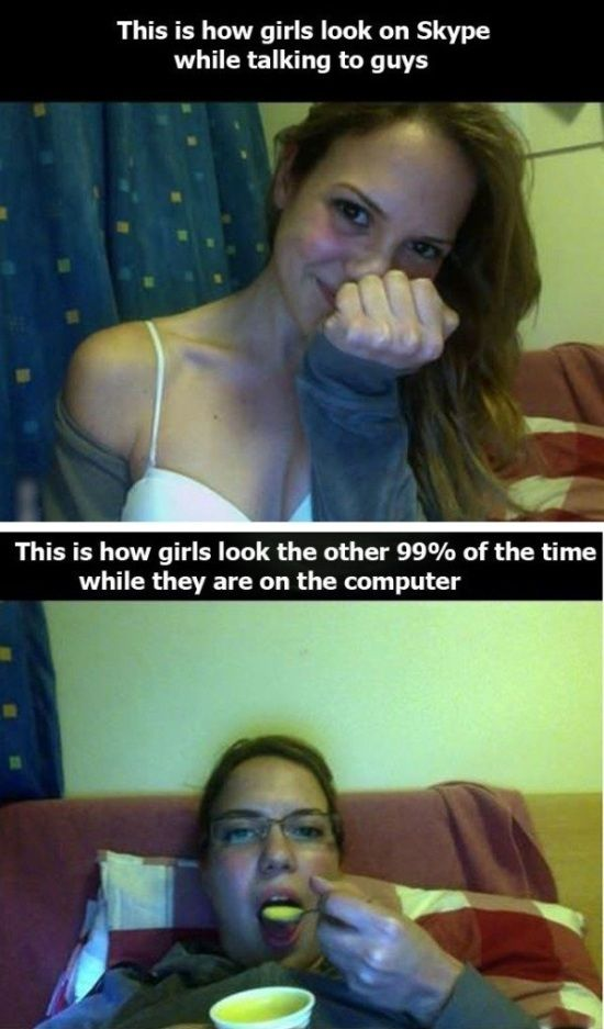 girls on internet