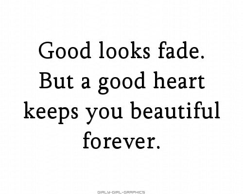 good looks - good heart