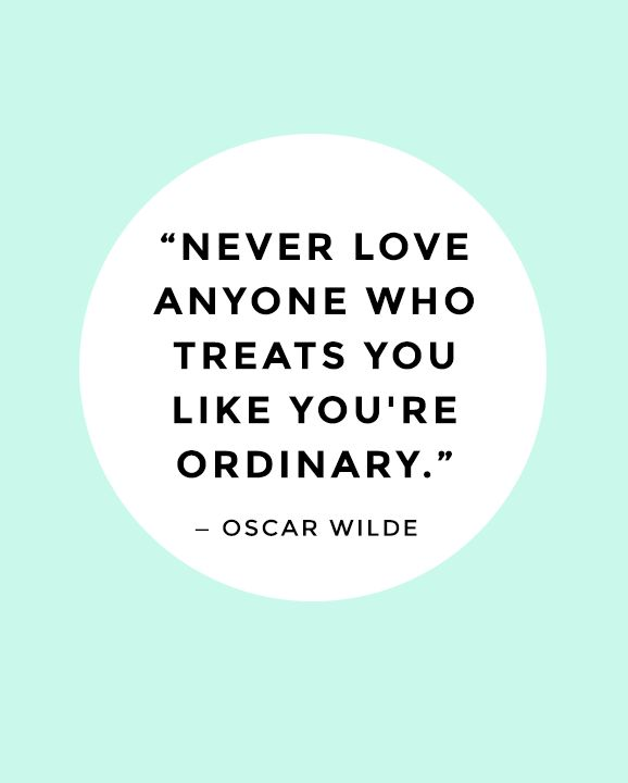 love-treat ordinary-Wilde