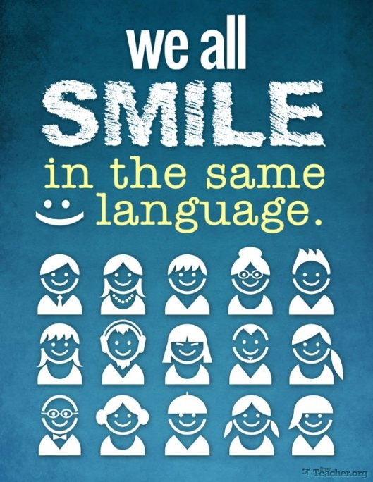 smile - same language