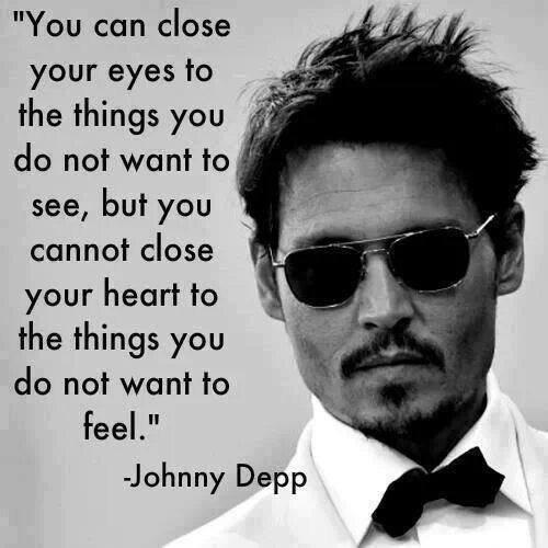 close your heart - Johnny Depp
