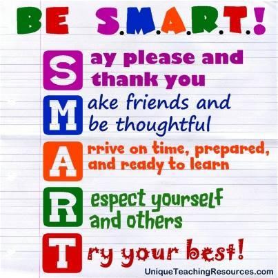 SMART school rules
