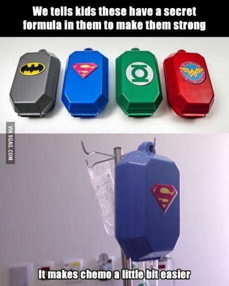 chemo superheroes