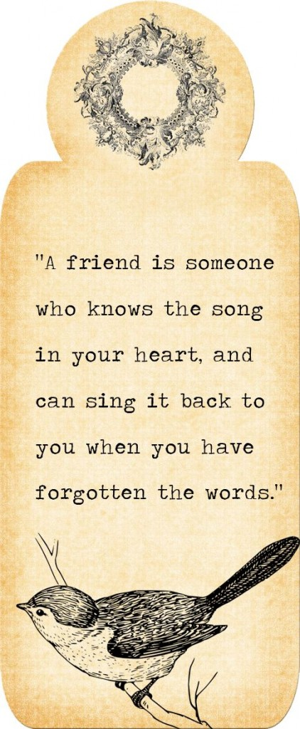 friend sing song heart