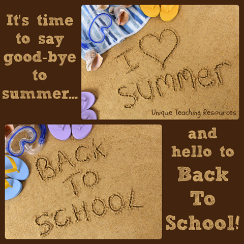 goodbye summer - hello school