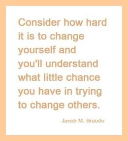 hard to change