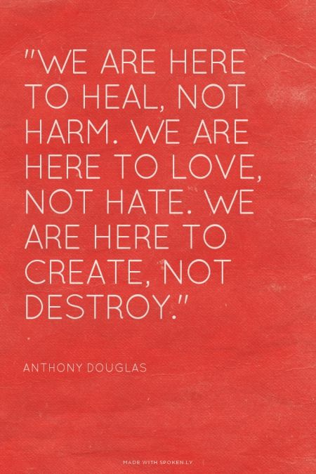 heal-not harm
