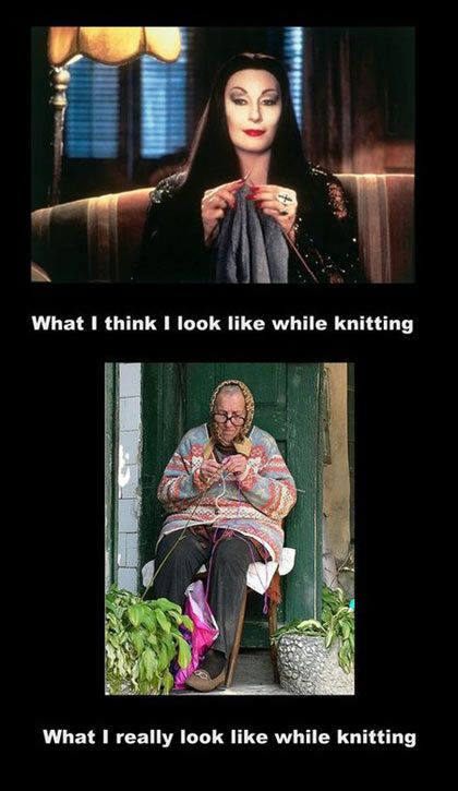 knitting - look like