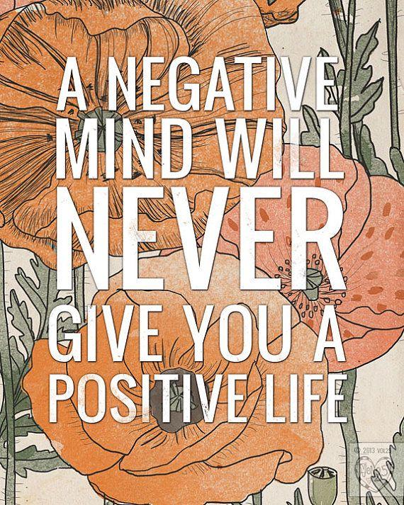 negative - positive