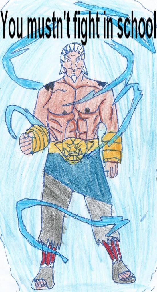 Cedric-mustnt fight