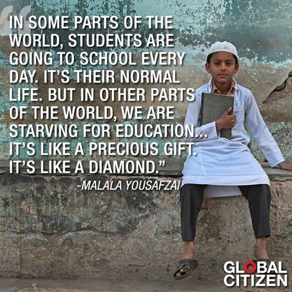 education - Malala
