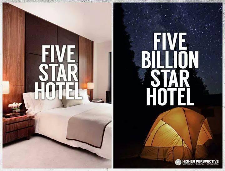 5 stars - 5 billion stars