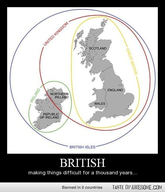 British Isles-UK-GB