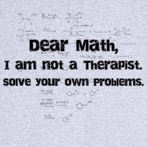 Dear Math - solve your problems