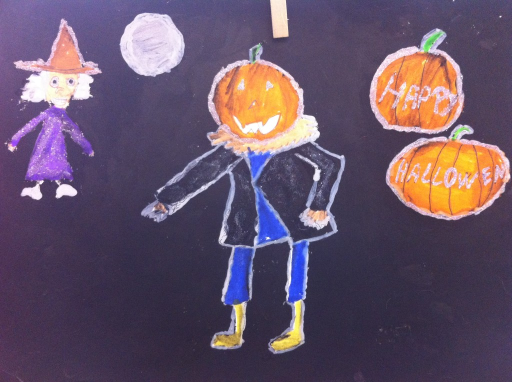 Halloween dessin Reka