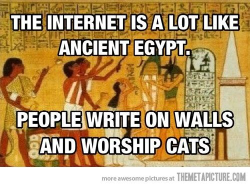Internet-ancient Egypt