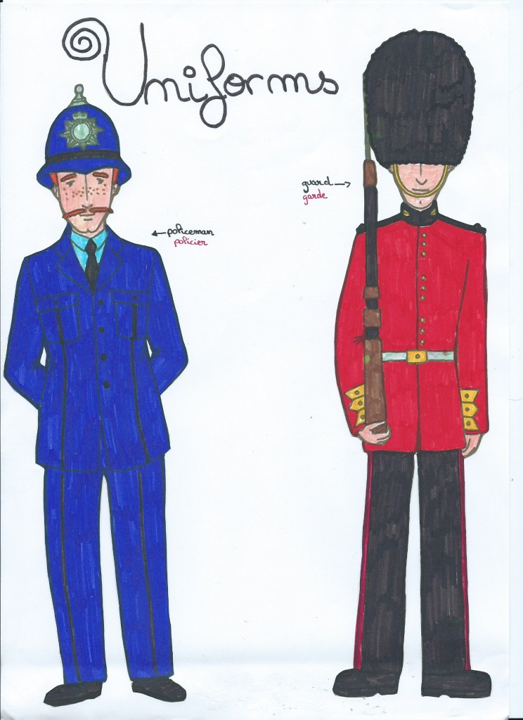 Lise-Anaelle London policeman and guard