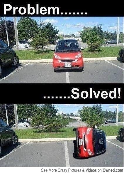 car park problem solved