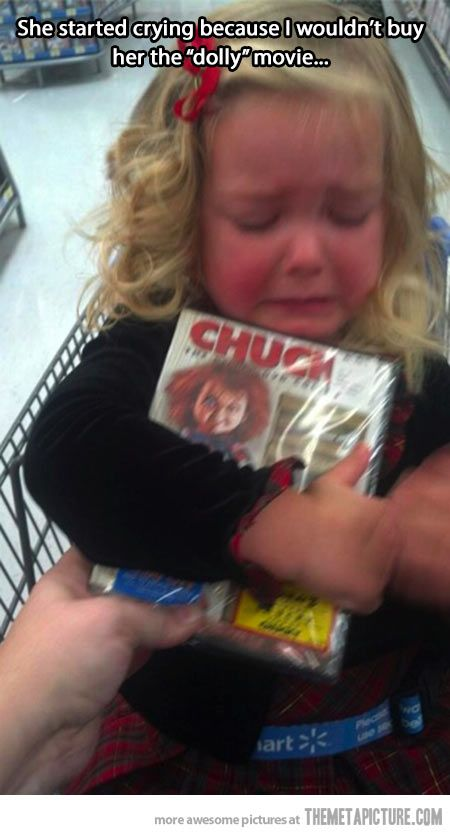 little girl Chucky
