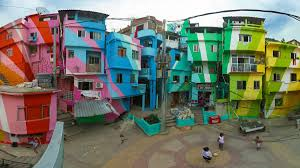 painted favelas