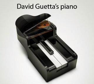 David Ghetta piano