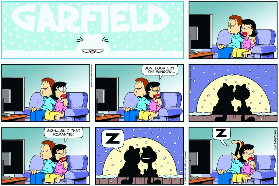 Garfield-romantic