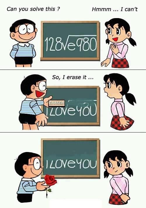 Math love you