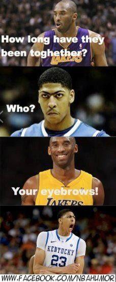 eyebrows together