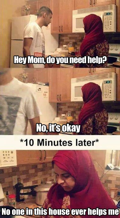 nobody helps me