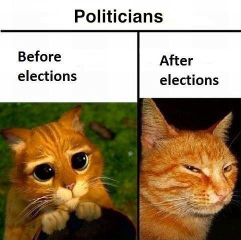 politicians before-after