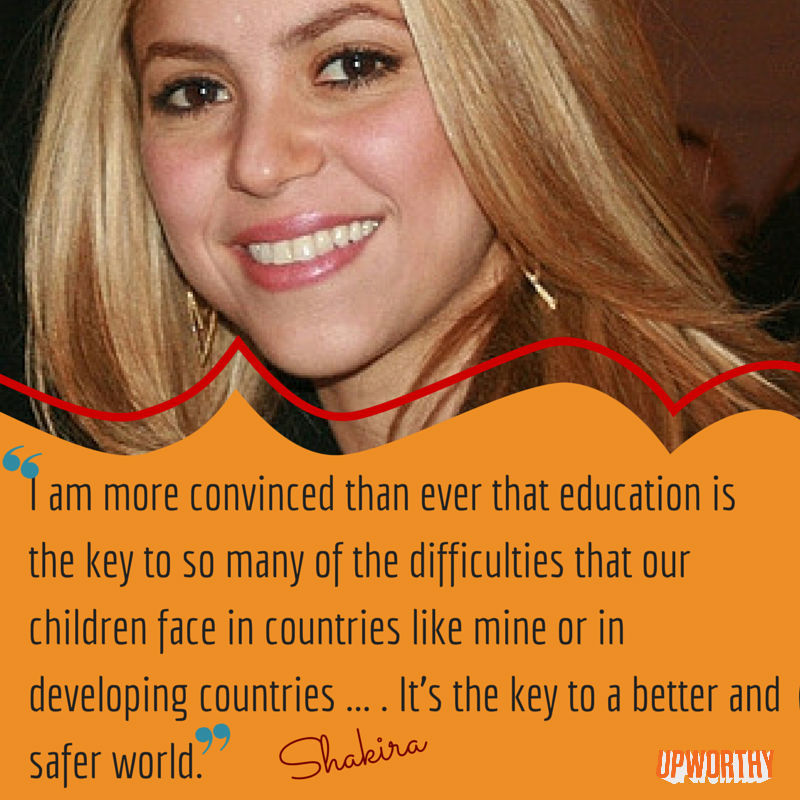 Shakira-education