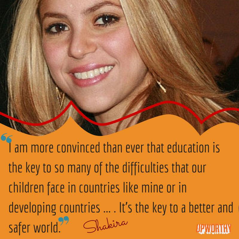 Shakira-education