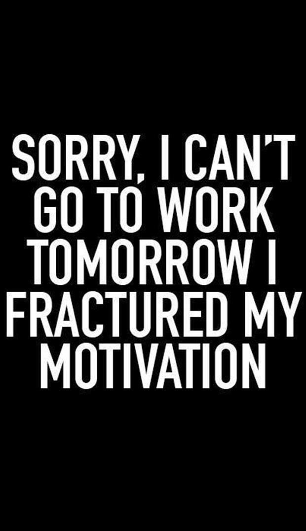 fractured motivation