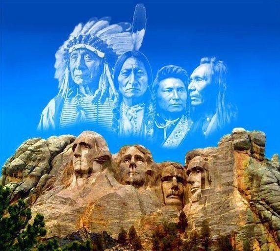 America-Indian forefathers
