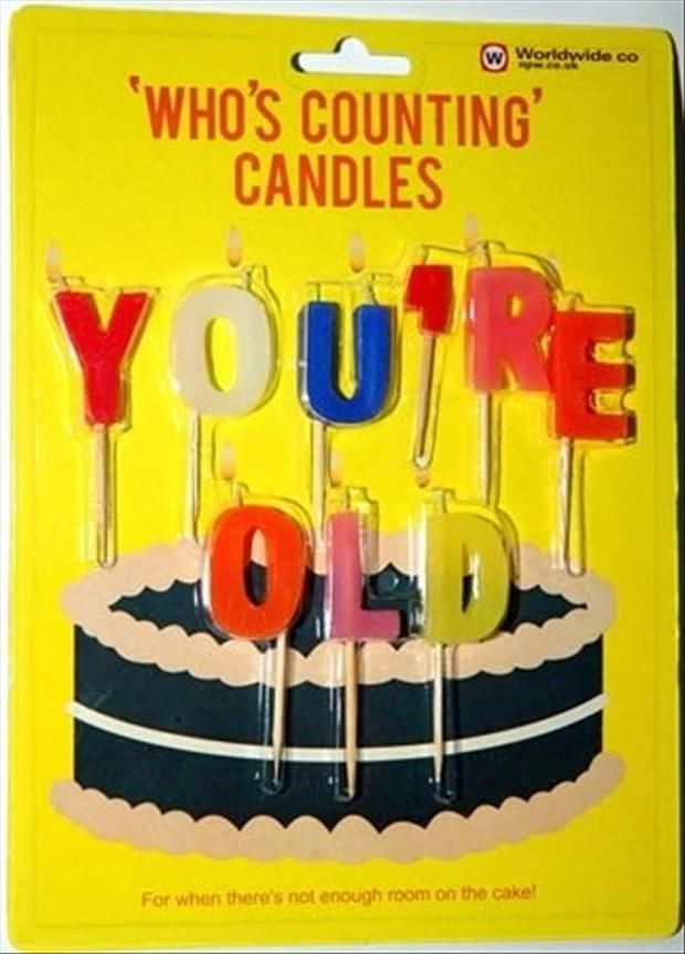 birthday candles old