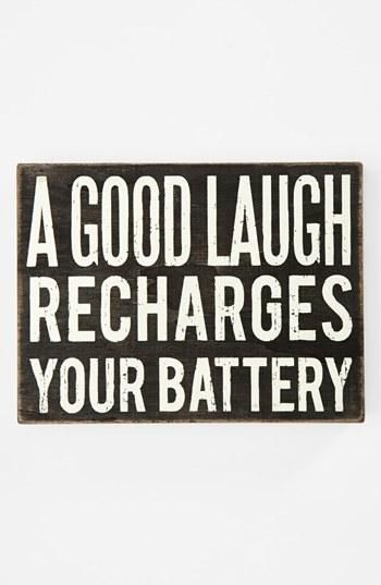 good laugh - battery