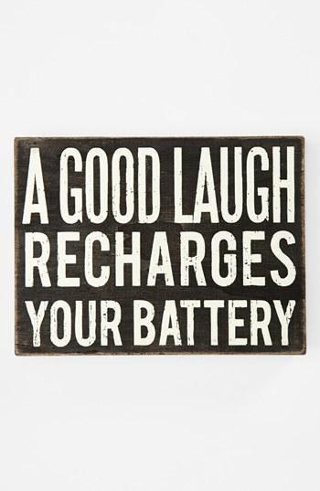 good laugh - battery